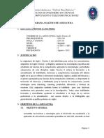 Programa Analitico LIN101!18!1 Ingles II