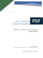 PLC Inducción, inventario conceptual y contextualización