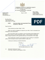 2019 05 14 Response From Platt Ex Parte Communications