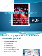 Anestesia y Electrofisiología Cardíaca
