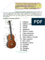 clase inicial de guitarra