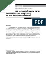 Redes, Atores e Desenvolvimento Rural