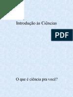Introdução à Ciencia