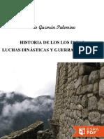 Historia de Los Incas_ Luchas D - Luis Guzman Palomino