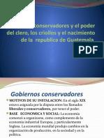 Gobiernos Conservadores y El Poder Del Clero, Tercero a SHAARON RIVERA