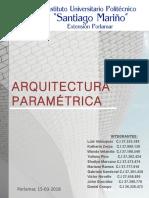 ARQUITECTURA PARAMETRICA (1)