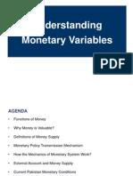 Monetary Variables