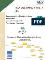 Sistema industrial del papel