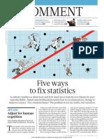 5 Ways to Fix Statistics