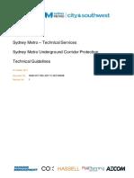 Sydney Metro Underground Corridor Protection Guidelines Revision 1_0