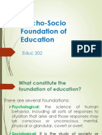 CAHPTER 1 overview Psycho-Socio Foundation of Education.pptx