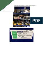 Anaquel de Herramientas Usada Como Almacen de Insumos y Consumibles.