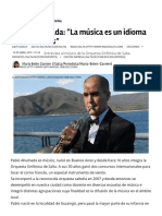 Entrevista a Pablo Ahumada