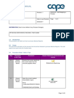 HR Services Manual - Medical Reports