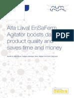 Ese02716en 01 Alfa Laval Ensaferm Agitator Boosts Dairy Product Quality