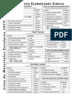 cge 19-20 school supply lists-spanish
