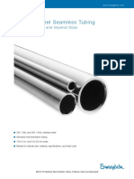 MS-01-181 Stainless Steel Seamless Tubing - Fractional, Metric and Imperial
