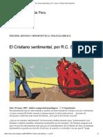 El Cristiano sentimental, por R.C.pdf