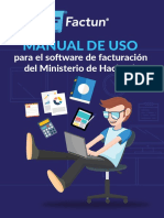 Manual de Uso Del Software de Facturacion Del Ministerio de Hacienda
