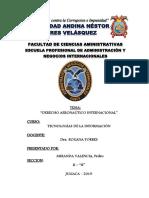 Derecho Aeronautico Internacional
