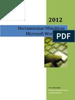 HERRAMIENTA WORD 2012