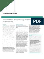 IR148 Euro Dollar Futures Fact Card