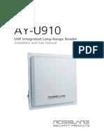 AY-U910 Installation and User Manual 010916.pdf