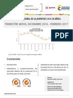 Boletín Informativo DANE Mercado Laboral Juventud
