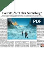 Tiroler Tageszeitung, 9. November 2010