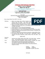 surat keputusan komite teknis