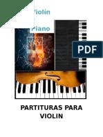 Partituras Violin