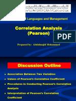 Correlation English
