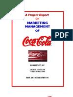 Marketing Management - Coke