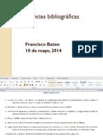 Citas y Referencias Bibliograficas Según APA