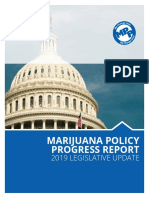 Marijuana Policy Progress Report 2019 Legislative Update