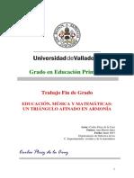 Educacion Matematica y Musica