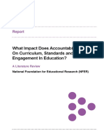 Nfer Accountability Literature Review 2018