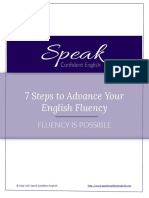 7 Steps to Advance Your English Fluency No Link