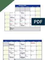Design 5 Perdices Schedule