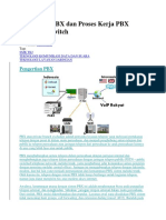 5 Pengertian PBX Dan Proses Kerja PBX Server Softswitch