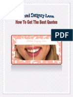 Dental Surgery Loan – How To Get The Best Quotes