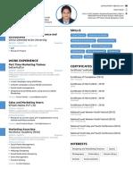 Yeshaswini's Resume