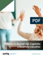 Maestria Aprendizaje Cognicion Desarrollo Educativo Mx