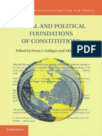 [Comparative Constitutional Law and Policy] Denis J. Galligan, Mila Versteeg - Social and Political Foundations of Constitutions (2013, Cambridge University Press)