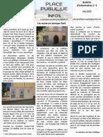 Bulletin n° 5 Place Publique