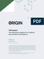 Origin Whitepaper
