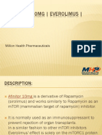 AFINITOR 10MG | EVEROLIMUS | MHP