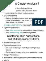 DM Clustering