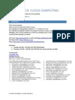 Information Management Syllabus