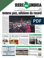 Rassegna stampa dell'Umbria lunedì 22 luglio 2019 UjTV News24 LIVE